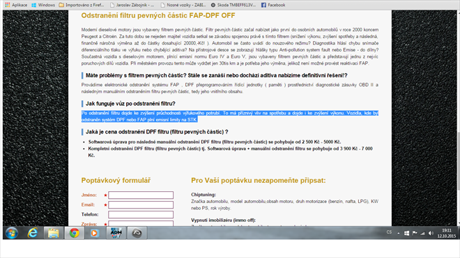 Fap off