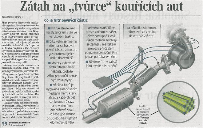 """Zátah na """"tvůrce"""" kouřících aut - strana 4 Lidových Novin"""
