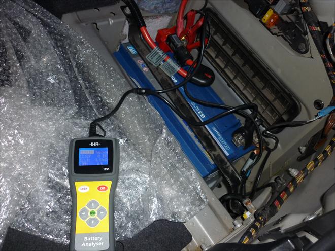 Test akumulátoru